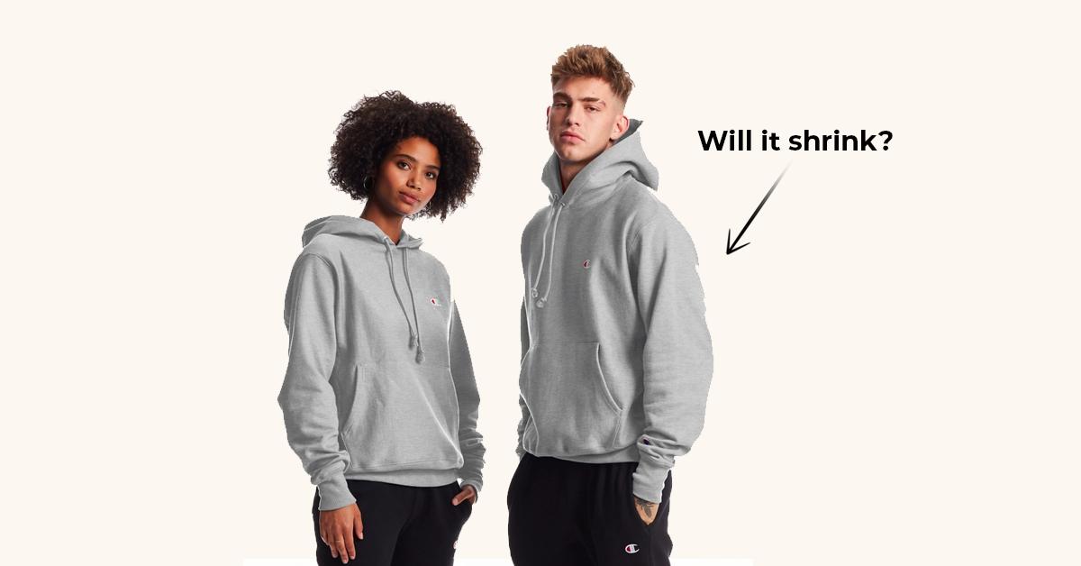 Do Champion champion reverse weave sweatshirts shrink?