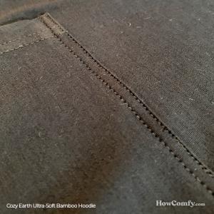 cozy earth hoodie outside fabric