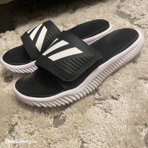 Adidas Alphabounce Slides Side View