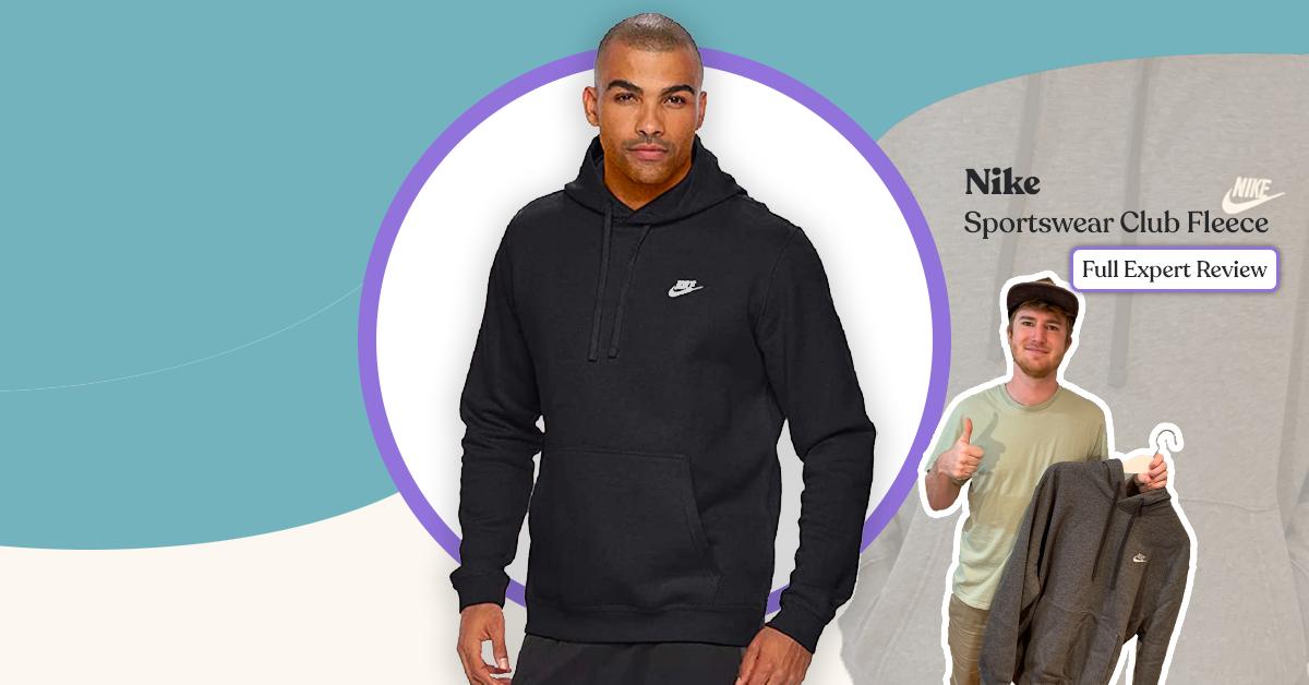 NIke sportswear club fleece hoodie review