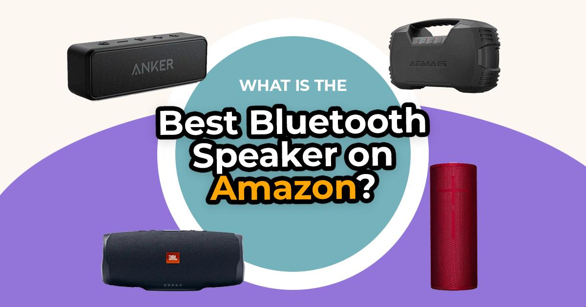 best portable bluetooth speakers on Amazon
