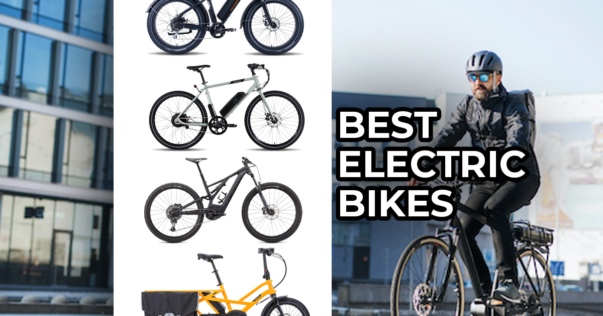 Best electric bikes of 2021 featured images